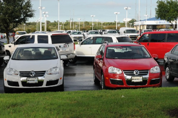 Sunday At The Car Lot(s) - Georgetown, Texas